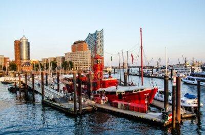 Sticker Lightship et HafenCity