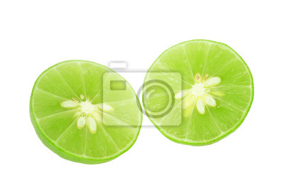Lime slice, Clipping path