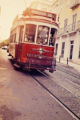 Sticker Lisbonne (tramway électrique)