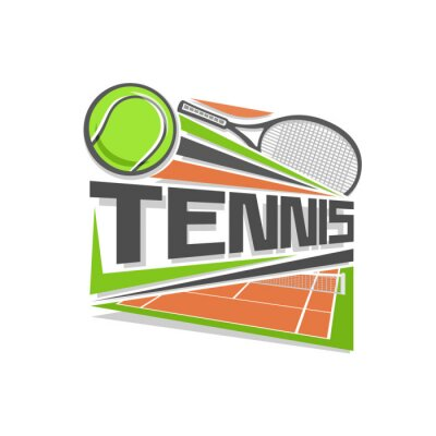 Sticker logo de Tennis