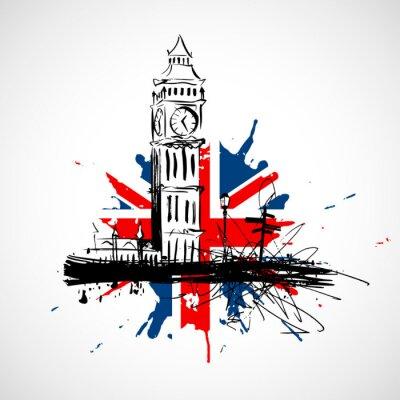 Sticker Londres!
