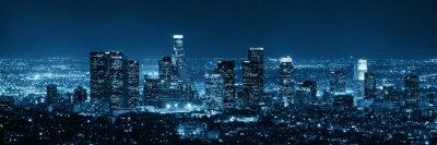 Sticker Los Angeles la nuit