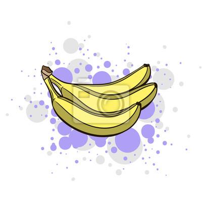 Sticker Lumineux Juicy Banana