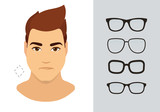 lunettes de soleil pour homme types de lunettes de soleil. Black Bedroom Furniture Sets. Home Design Ideas