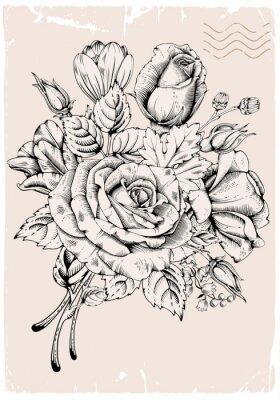 Sticker Luxe Rose