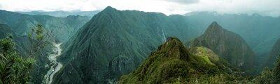Sticker Machu Picchu panoramique