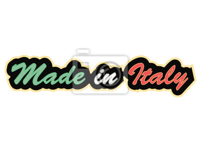 made in italy néon