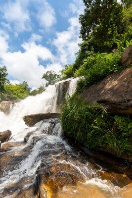 Sticker Mae klang cascade, doi inthanon parc national, Thaïlande
