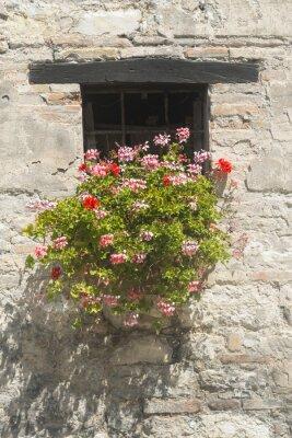Sticker Maison ancienne dans les Marches (Italie)