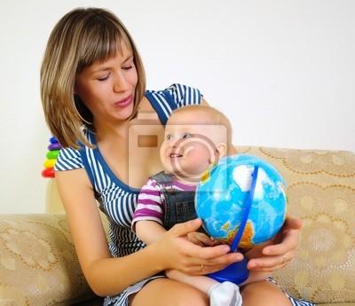 Maman et son fils s'amuser ensemble