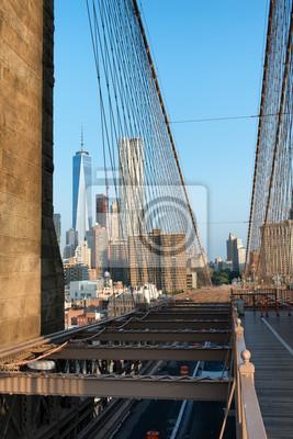 Manhattan et One World Trade Centre depuis Bridge