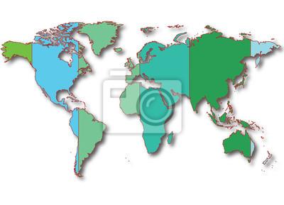 mappa con divisioni