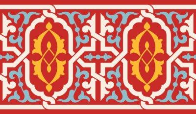 Sticker Maroc, antiquité, seamless, frontière