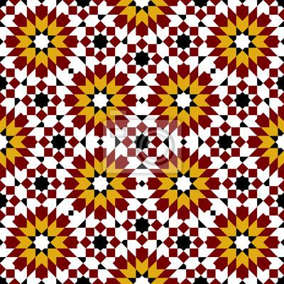 Sticker: Marocain zellige seamless