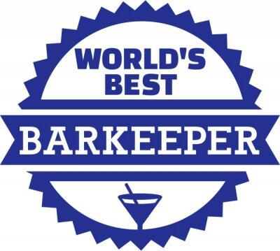 Meilleur Barman Barman Barman du monde