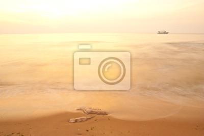 mer et le coucher du soleil, offre bang, prajaobkirikhan