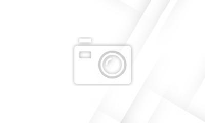 Sticker Minimal geometric white light background abstract design. vector EPS10.