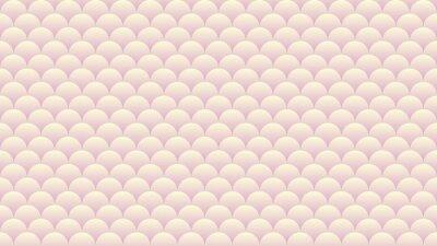 Modèle abstrait de couleur beige rose. Papier peint de couleur pastel. Fond de cercles dégradé.