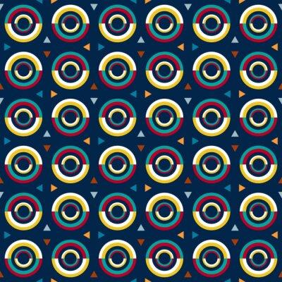 Sticker Modèle de style 70s