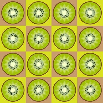 Sticker Modèle kiwi transparente