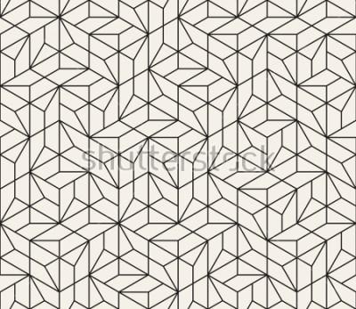 Sticker Modèle sans couture de vecteur. Texture abstraite élégante moderne. Répétition de carreaux géométriques à partir de rayés