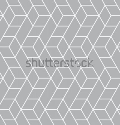 Sticker Modèle sans couture de vecteur. Texture élégante moderne. Répéter des carreaux géométriques avec des triangles.