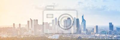 Sticker Moderne, Cityscape, panoramique, fond