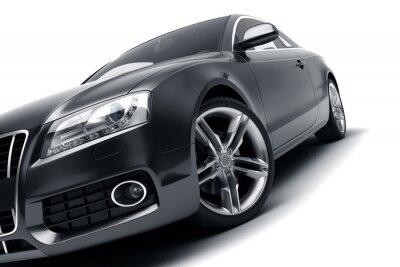 Sticker Moderne voiture noire