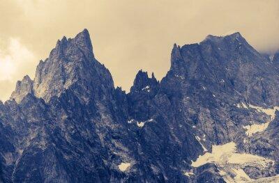 Sticker Montagnes d'Alp