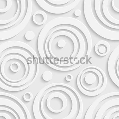 Sticker Motif de cercles sans soudure