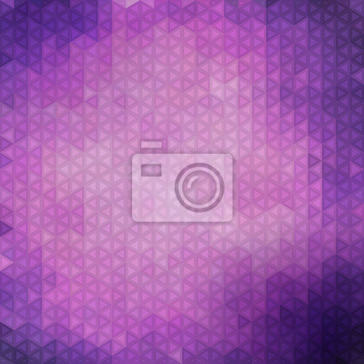 Motif de triangle violet