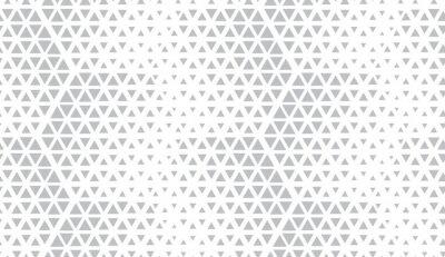 Sticker Motif géométrique abstrait Fond vectorielle continue Demi-teinte blanche et grise. Motif graphique moderne. Conception graphique simple en treillis.