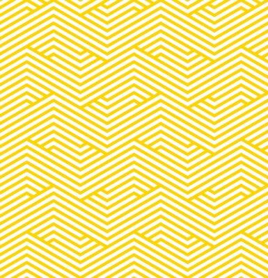 Sticker Motif géométrique rayé