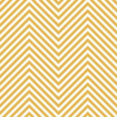 Sticker Motif jaune zigzag. Vague, fond, vecteur