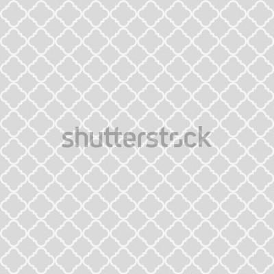 Sticker Motif sans soudure abstrait géométrique. Fond classique. Illustration vectorielle