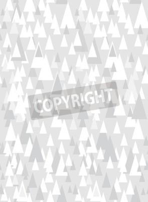Sticker Motif transparent gris avec triangles décoratifs et espace de copie