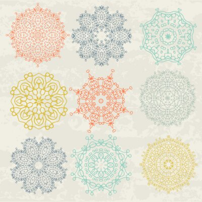 Sticker Motifs circulaires