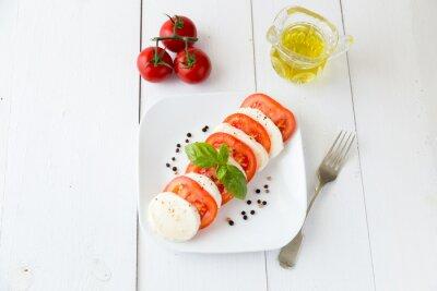 Sticker Mozzarella pour pomidorami i pieprzem