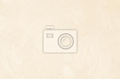 Sticker Mur de chambre à coucher ou salle de réception design décoré avec un fond de texture de papier peint. Abstrait lin couleur beige, sépia et crème. Tissu à motifs vintage et surface en carton.
