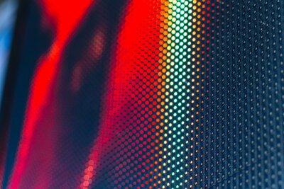 Sticker Mur vidéo LED avec motif saturé élevé