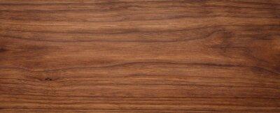 Sticker Natural oak texture with beautiful wooden grain, walnut wooden planks, Grunge wood wall.