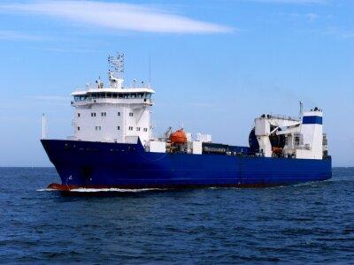 Sticker Navire cargo Ro-Ro