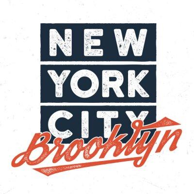 Sticker New York City Brooklyn - Tee Design pour impression