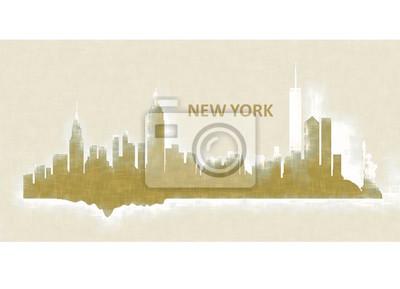 New York dipinto