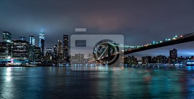 new york nuit vue de brooklyn
