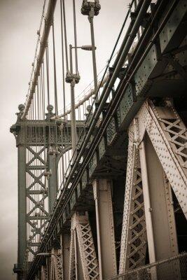Sticker New York Pont de Manhattan