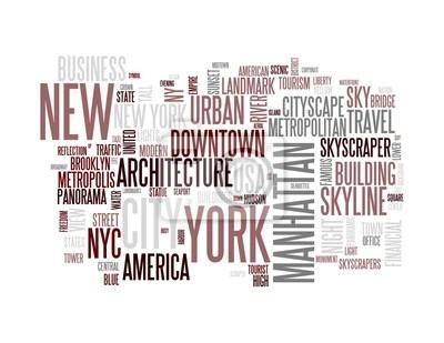 New York - Résumé carte postale