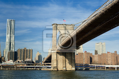 NEW YORK Une vue du pont de Brooklyn