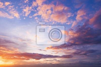 Sticker Nice ciel crépusculaire et pourrait