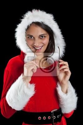 Noël femme posant